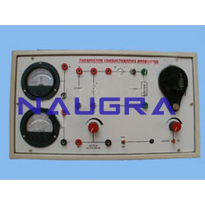 Thermistor Characteristics Apparatus For Electrical Lab Training