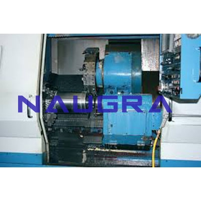 CNC Lathe Machine Floor Model