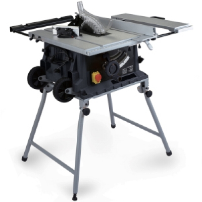 WOODWORKERS TABLE, SAW MACHINE / ACCESSORIES