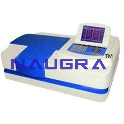Microprocessor UV-VIS Spectrophotometer(Double Beam) For Electrical Lab Training