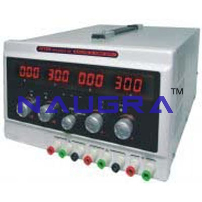 Regulated Power Supply ( Multi Output ) For Electrical Lab Training