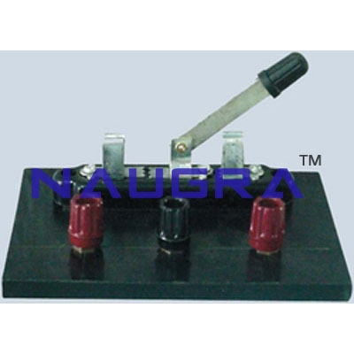 Knife Switch For Electrical Lab Training