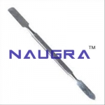 SS Double Spatula Laboratory Equipments Supplies