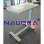 Over Bed Table, Height Adjustable