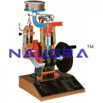 Indirect Injection 4stroke Diesel Engine Model- Engineering Lab Training Systems