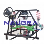 Electric Power Assisted Steering (EPS) with Suspension- Engineering Lab Training Systems
