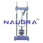Unconfined Compression Tester Proving Ring Type For Testing Lab