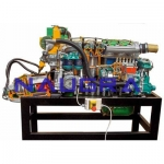 Marine Inboard Diesel Engine with Inverter- Engineering Lab Training Systems