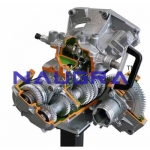 Gearbox with Differential (6 Forward Gears and Reverse)- Engineering Lab Training Systems