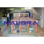Rabbit Cage Laboratory Equipments Supplies