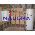 Central Heating System Laboratory Equipments Supplies