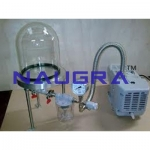 Bell Jar with Pump
