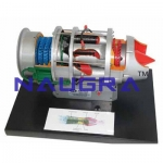 Turbo Jet Engine Model with High pressure Compressor- Engineering Lab Training Systems
