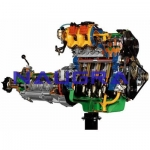 FIAT Engine with Multi-point Electronic Injection and Gearbox- Engineering Lab Training Systems