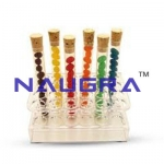 Acrylic Test Tube Stand Laboratory Equipments Supplies