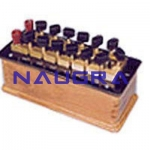 Plug Type Resistance Boxes Laboratory Equipments Supplies
