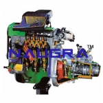 FIAT Petrol Engine with Gearbox- Engineering Lab Training Systems