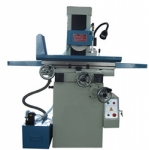 Horizontal spindle surface grinder with reciprocating table