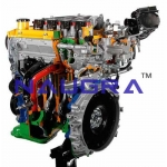 Direct Injection Petrol Engines- Engineering Lab Training Systems