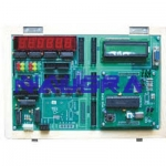 Embedded Trainer for Microchip PIC16F877 For Electrical Lab Training
