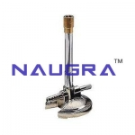 Mild Steel Bunsen Burner Laboratory Equipments Supplies