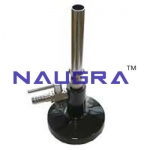 Iron Bunsen Burner Laboratory Equipments Supplies