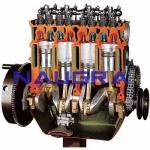 OHV Engine with Timing Chain- Engineering Lab Training Systems