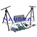 Antenna Trainer With Variable Frequency For Electrical Lab Training