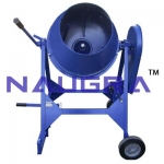 Laboratory Concrete Mixer (Hand Operated) For Testing Lab