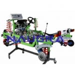 Standard Petrol Multi-point Engine Chassis- Engineering Lab Training Systems