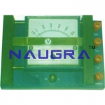 Multirange Ammeter & Voltmeter For Testing Lab