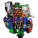 Diesel Engine for Small Car- Engineering Lab Training Systems