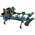 4WD Petrol Engine Chassis- Engineering Lab Training Systems