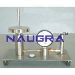Dead Weight Type Oil Water Constant Pressure System For Testing Lab