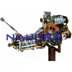 Twin shaft Carburettor FIAT Petrol Engine with Gearbox- Engineering Lab Training Systems