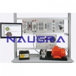 Three-phase Generator with Multifunction Controller For Electrical Lab Training