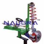 Steering Unit with McPherson Suspension- Engineering Lab Training Systems