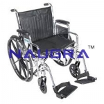 Wheelchair Detachable Arm and Foot Rest