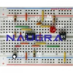 Astable Multivibrator Using 555 For Electrical Lab Training