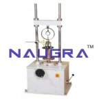 Unconfined Compression Tester Proving Ring Type (Motorised) For Testing Lab