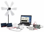 Energy Conversion in a wind power station Trainer Model