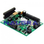 Stepper Motor Controller Interface Card For Electrical Lab Training