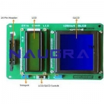 LCD Display Interface Card For Electrical Lab Training
