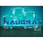 Beaker Low Form With Spout Laboratory Equipments Supplies