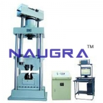 Hydraulic Universal Material Tester- Engineering Lab Training Systems