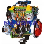 V6 Petrol Engine- Engineering Lab Training Systems