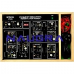 Fdm Modulation/ Demodulation Trainer For Electrical Lab Training