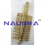 Brass Cork Borer Laboratory Equipments Supplies