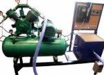 Single Cylinder Two Stage Air Compressor Test Rig