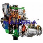 FWD Diesel Engine with Gearbox- Engineering Lab Training Systems
